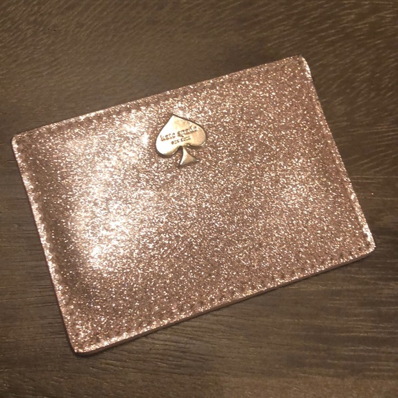 Kate spade accessories rose gold business card holder poshmark rose gold kate spade business card holder colourmoves